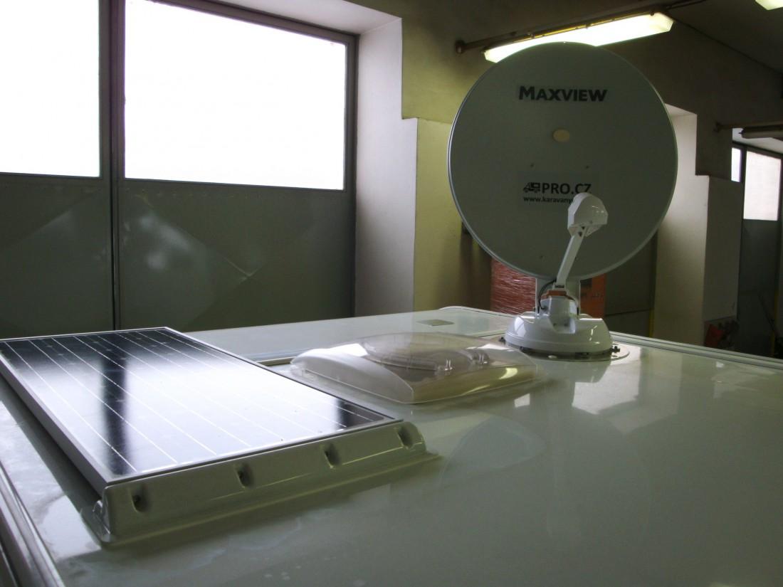 Solar, monokrystal 100Wp, Maxview, New Twister, Maxview New Twister
