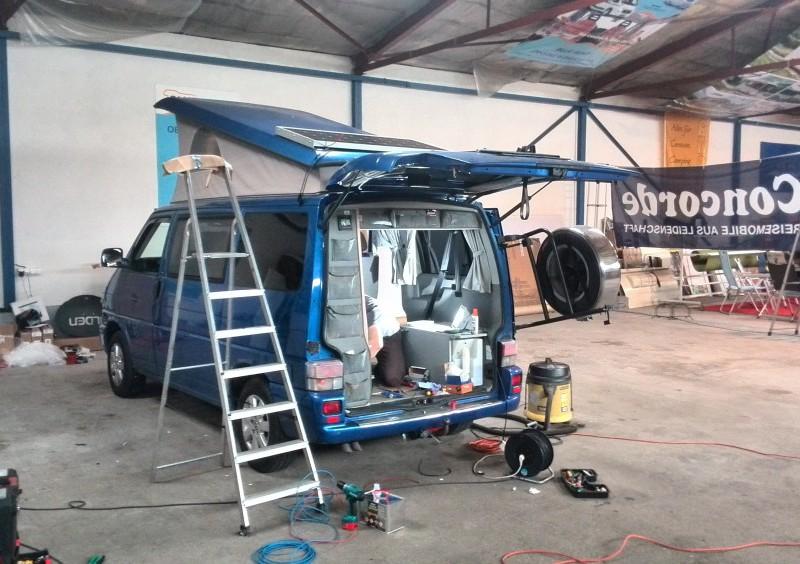 VW T4 Westfalia back