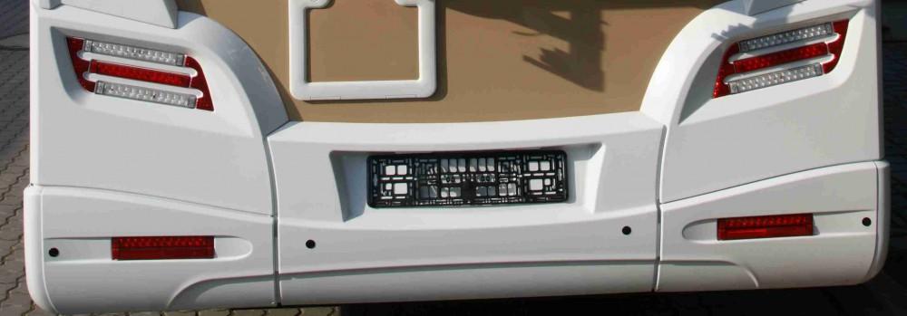Zadní parkovací senzory